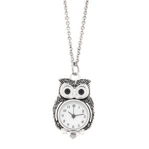 New Claire's: Japan Movement Gold Owl Necklace
